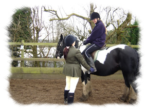 Image: Rider And Trainer In Consultation
